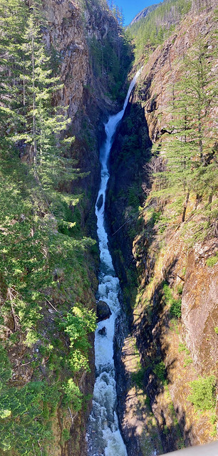 Gorge Creek Falls top half