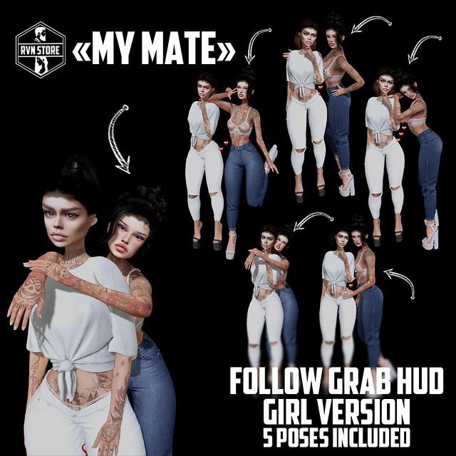 rvn - my mate - grab/follow HUD (girl version)