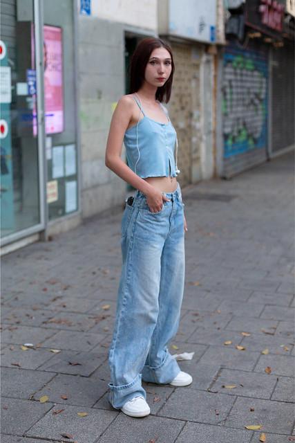Girl in Saint Tropez. Ellie 📍 Alenbi, Tel Aviv.