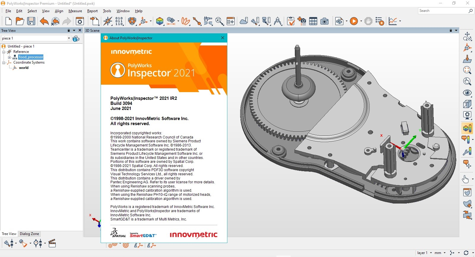 Working with InnovMetric PolyWorks Metrology Suite 2021 IR2 Win64 full