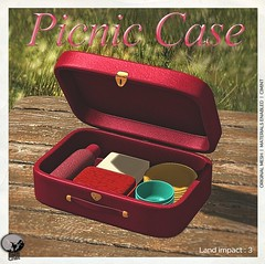 PicNic Case : New release & exclusive gift for SL18B Shop & Hop event