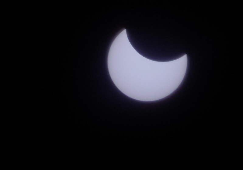 The partial eclipse of the Sun