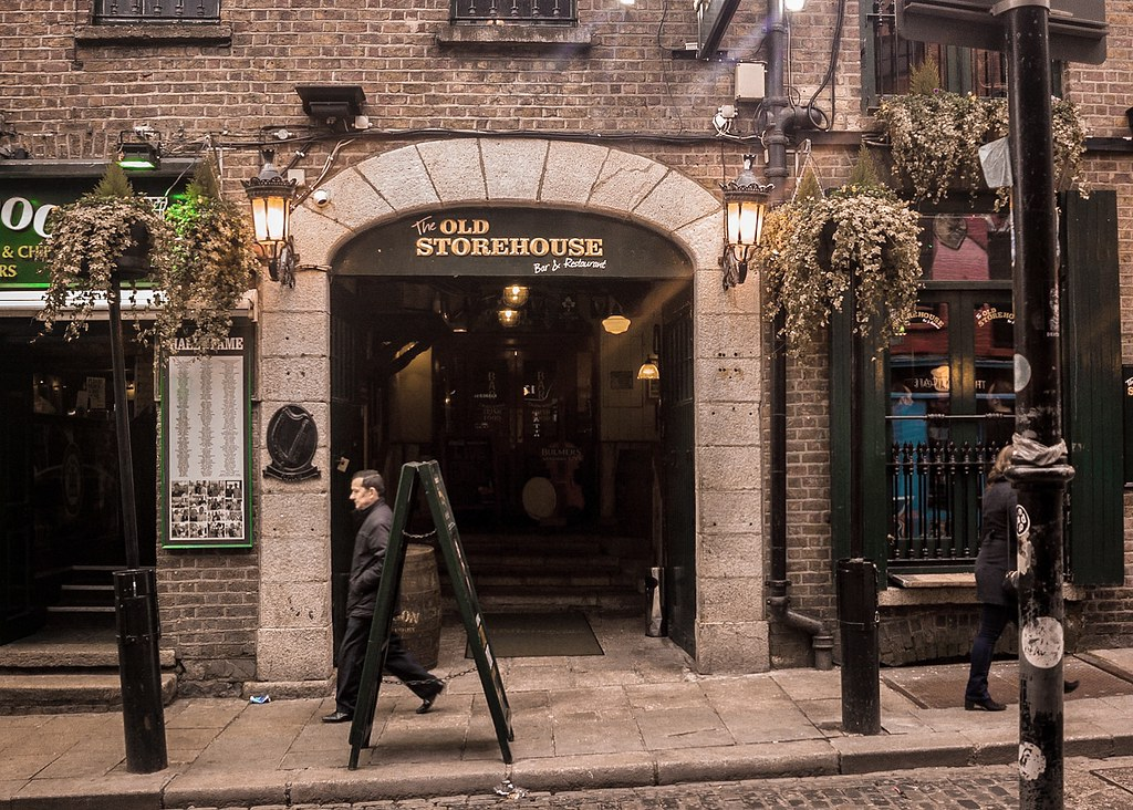 The Old Storehouse – Crown Alley</br><i>(A Pint with Shane MacGowan)</i>
