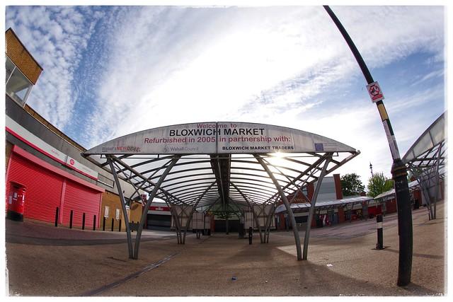 Bloxwich market place