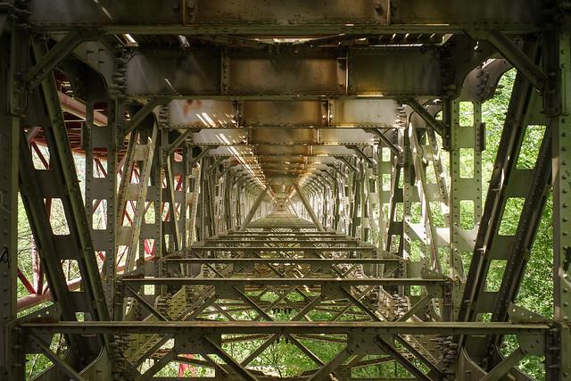 Under the bridge again