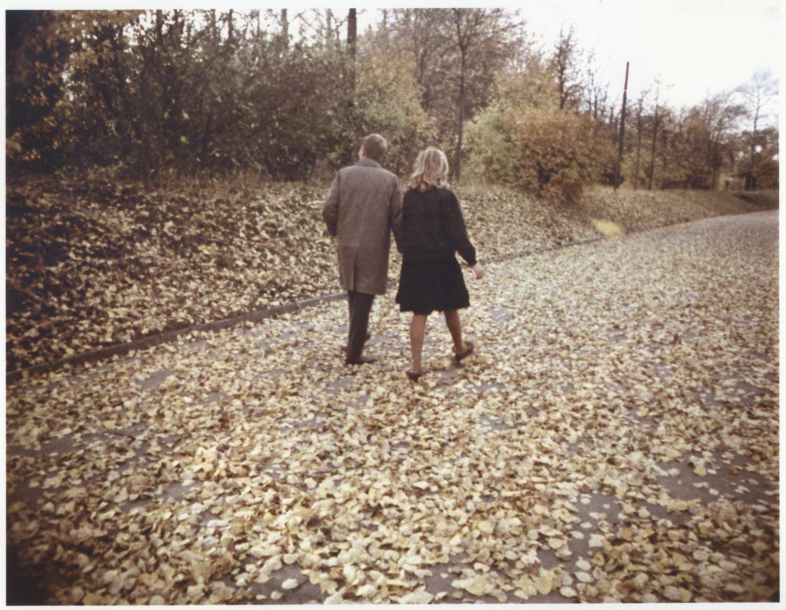 1964. В осеннем парке.
