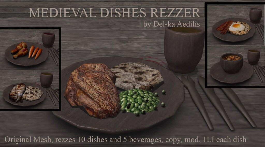 Medieval Dishes Rezzer