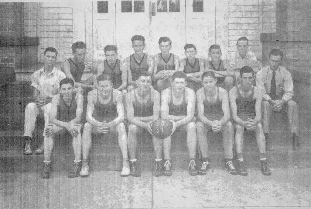 Harris Basketball Team - 1938 -1939