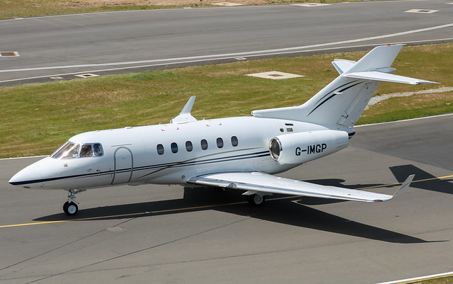 G-IMGP Raytheon Hawker 850XP