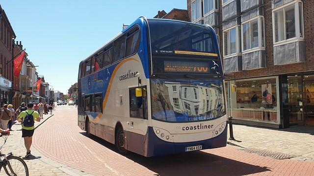 Stagecoach South 15991 (YN64 XSV) Chichester 14/6/21