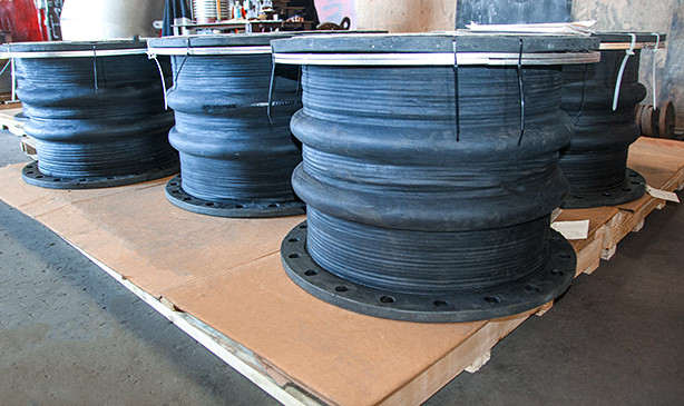 """Rubber Expansion Joints for a 24"""" Dia. Pipeline at an Offshore Production Facility"""