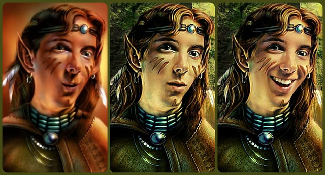 Baldur's Gate Portrait remade - Deder / Dernel