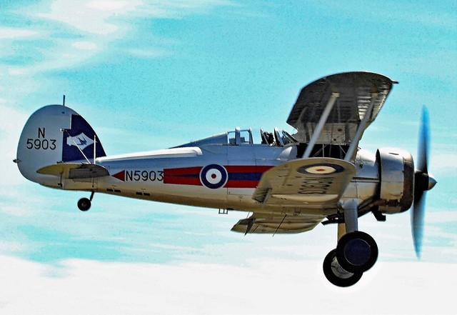 G-GLAD : Gloster Gladiator 11