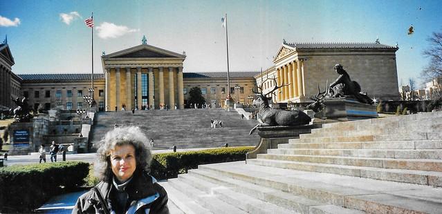 Philadelphia Pennsylvania  ~ Philadelphia Museum of Art -  Facade