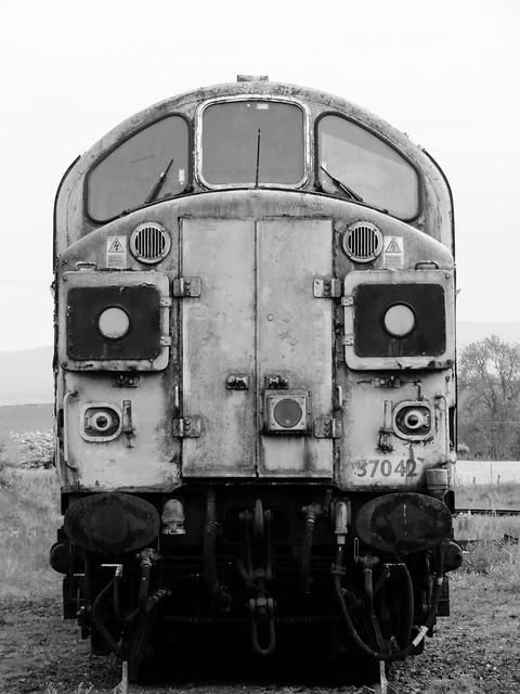 37042 EDEN VALLEY RAILWAY, WARCOP STATION YARD 7.6.21