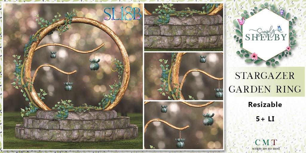 Simply Shelby Stargazer Garden Ring SL18B