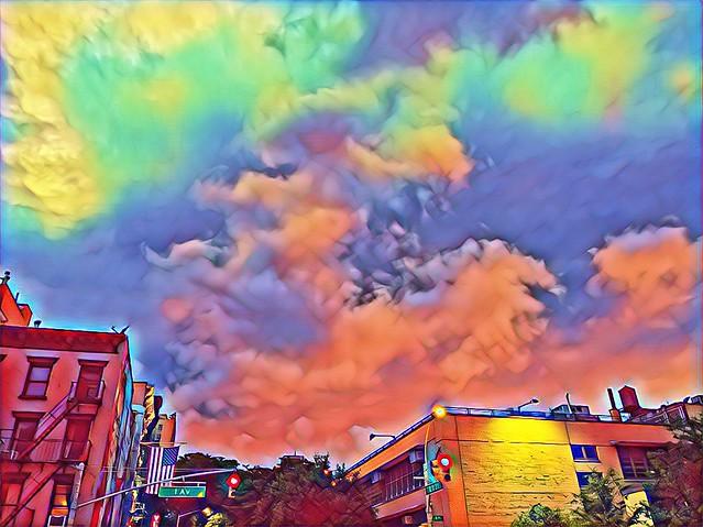 First Avenue Clouds