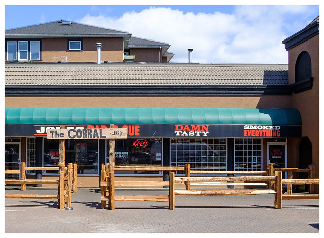 dine around town (the corral)