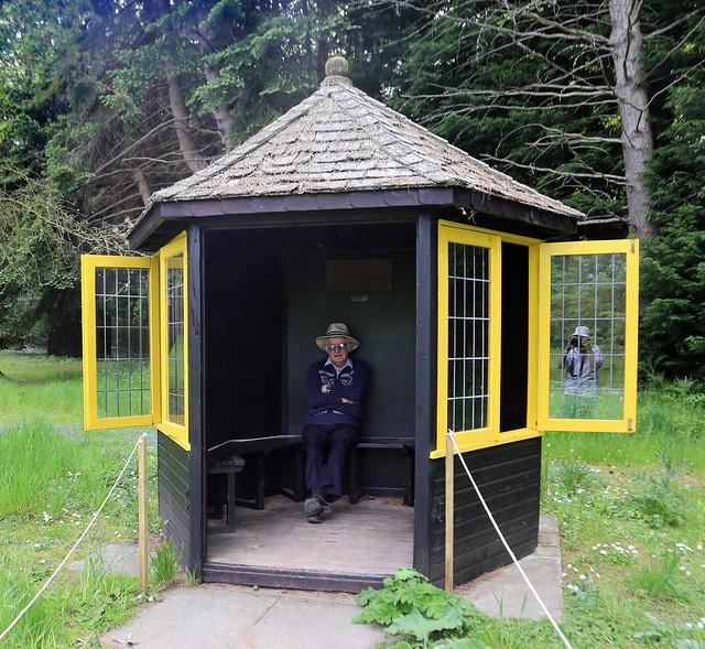 Botanic Garden, St Andrews, Reflection.