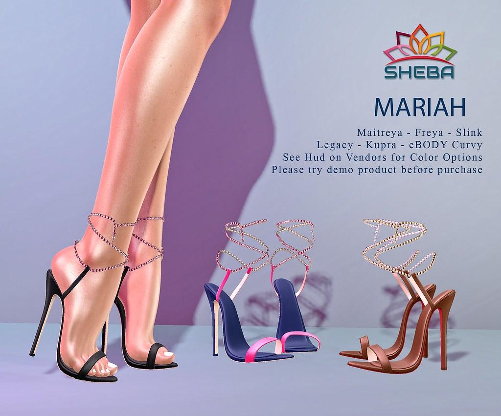 [Sheba] Mariah Heels @Cosmopolitan Event