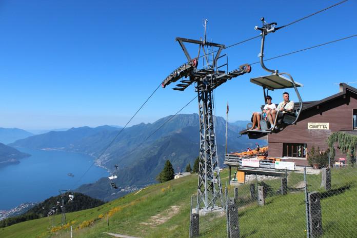 Unikátní lanovky v kantonu Ticino