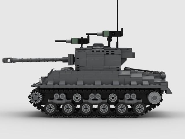 M4A1 Sherman MOC
