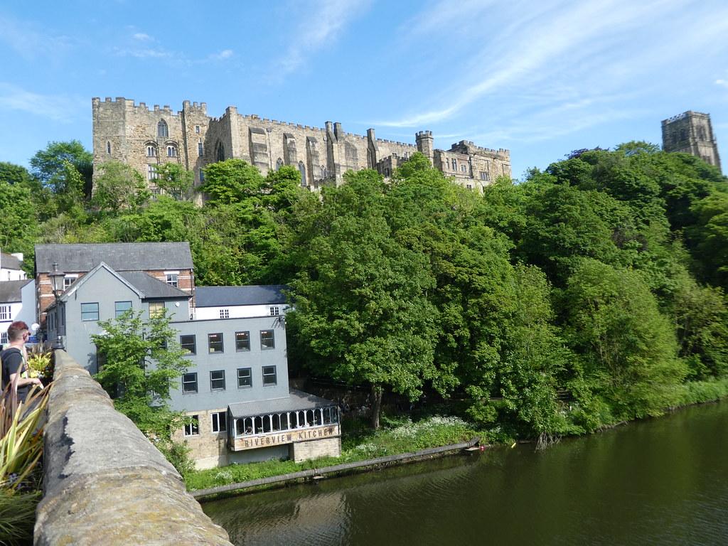 View from Framwellgate Bridge, Durham