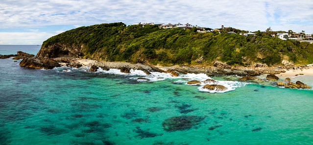 One Mile Beach Morning Seascape Panorama