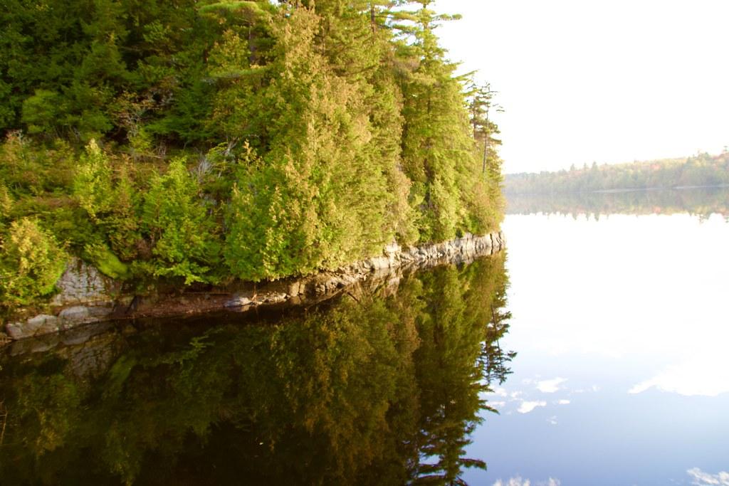 Lake Placid New York  ~  Evening Sunset  ~ Reflection - Adirondack Mountain
