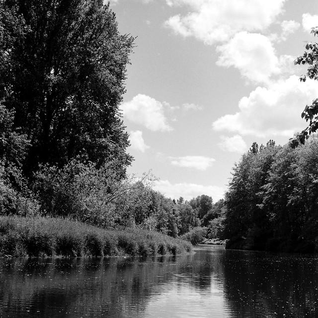Sammamish River at Bothell Landing