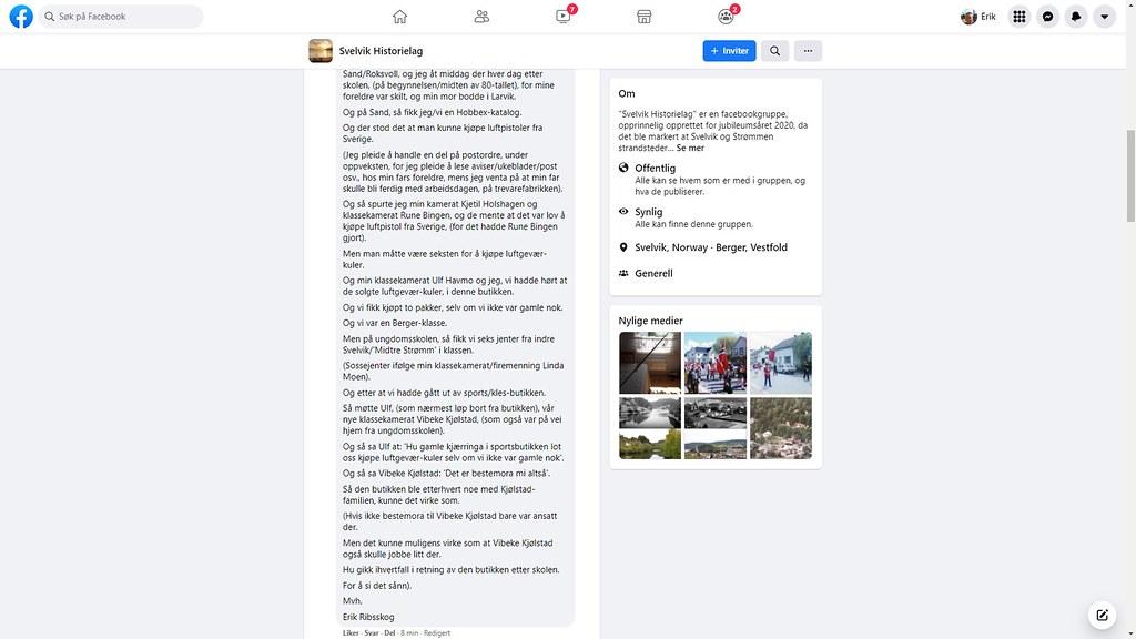 vibeke kjølstad facebook 2