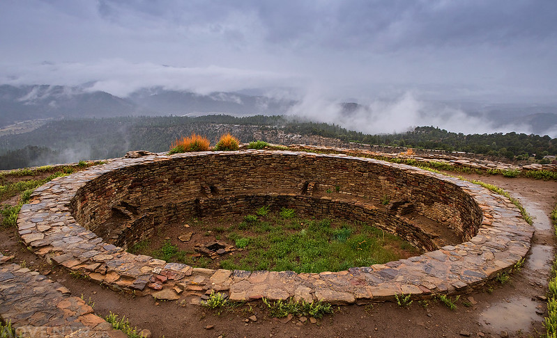 Kiva In the Clouds
