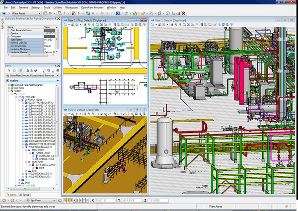 Working with Bentley AutoPLANT Plant Design V8i SELECTseries 3 v8.11.8.123