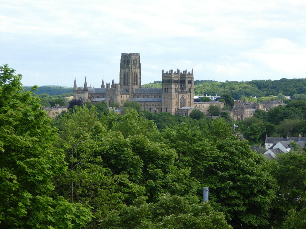 Stunning views of Durham Cathedral from Wharton Park