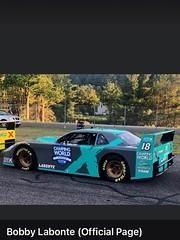 Bobby Labonte's new IROC car called SRX Series.