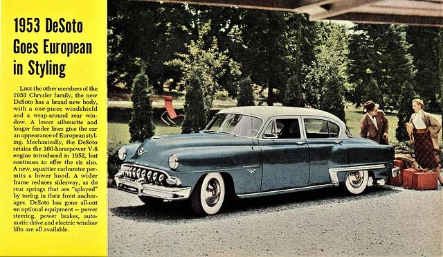 1953 DeSoto Firedome V-8 Four-Door Sedan
