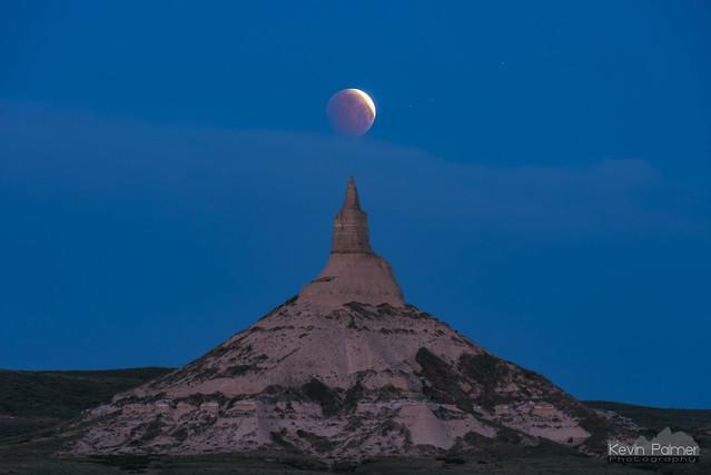 Chimney Rock Moon