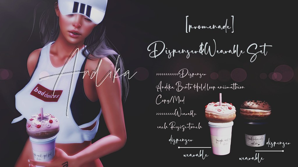 SL18B Gift//andika[promenade]Dispenser&Wearable Set