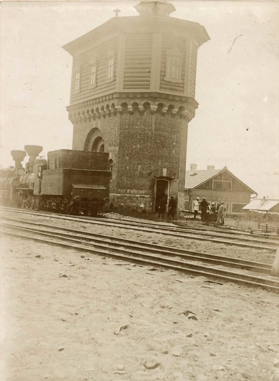 Водонапорная башня на жд станции
