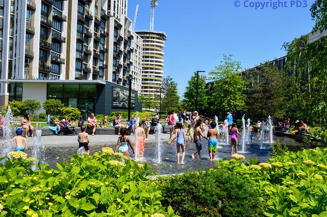 White City Splash Pool