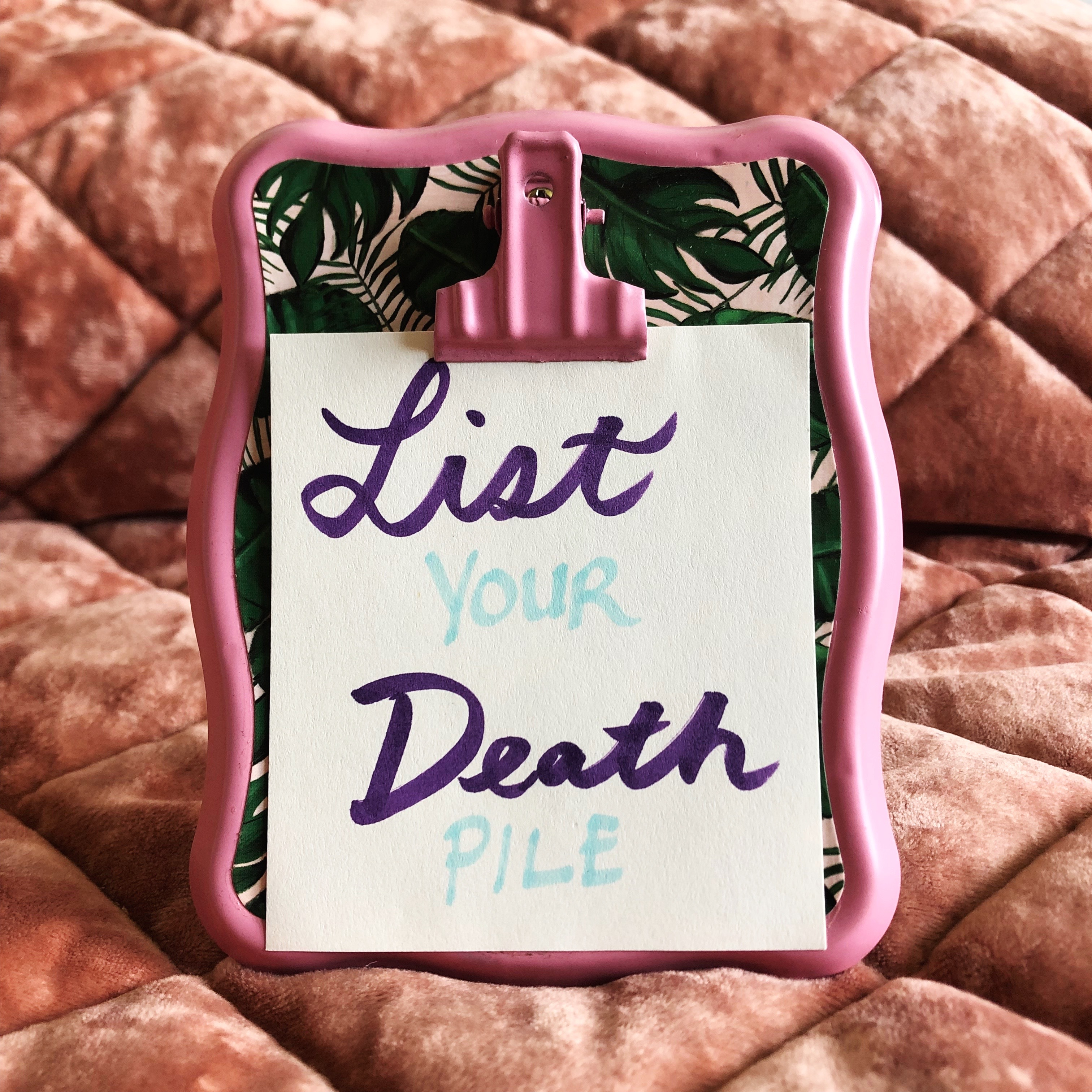 Reseller Tips 3 • List Your Death Pile