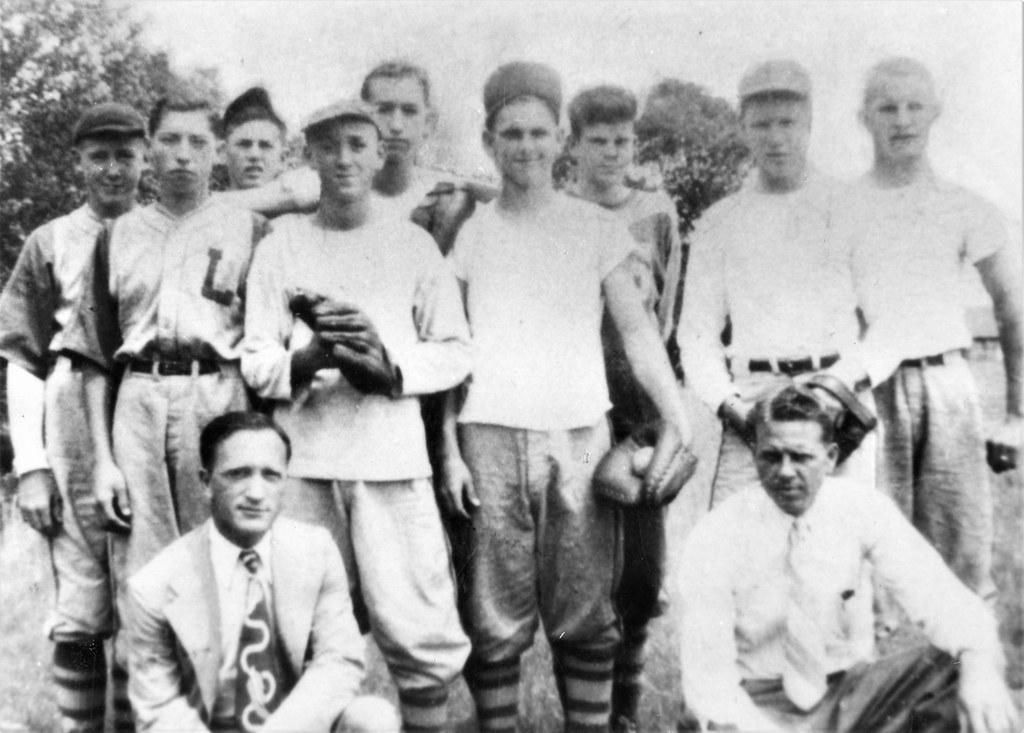 Lisbon High School Baseball, 1946