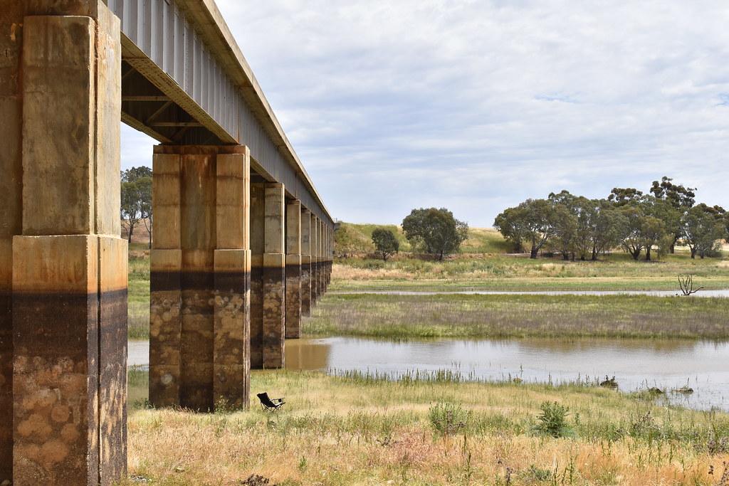 bridge over the cairn curran reservoir
