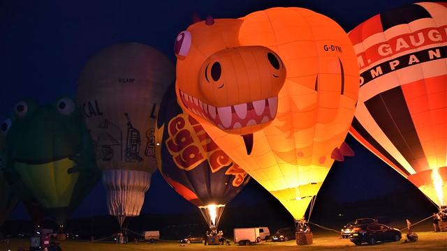 Balloon Glow - Midland Air Festival'21