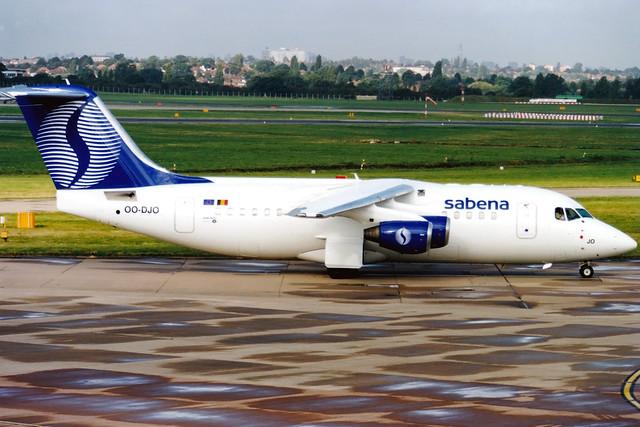 Sabena (Delta Air Transport) | Avro RJ85 | OO-DJO | Birmingham International