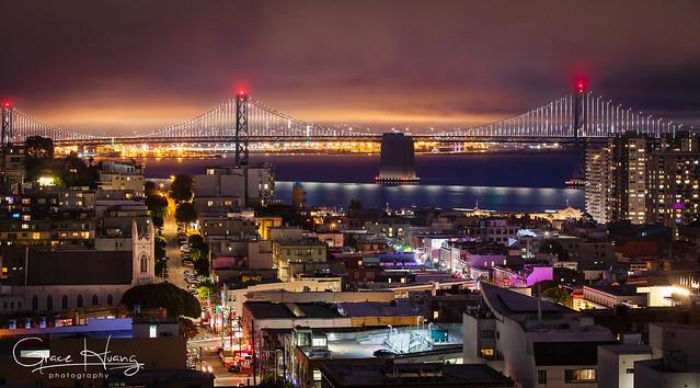 Foggy Night In San Francisco