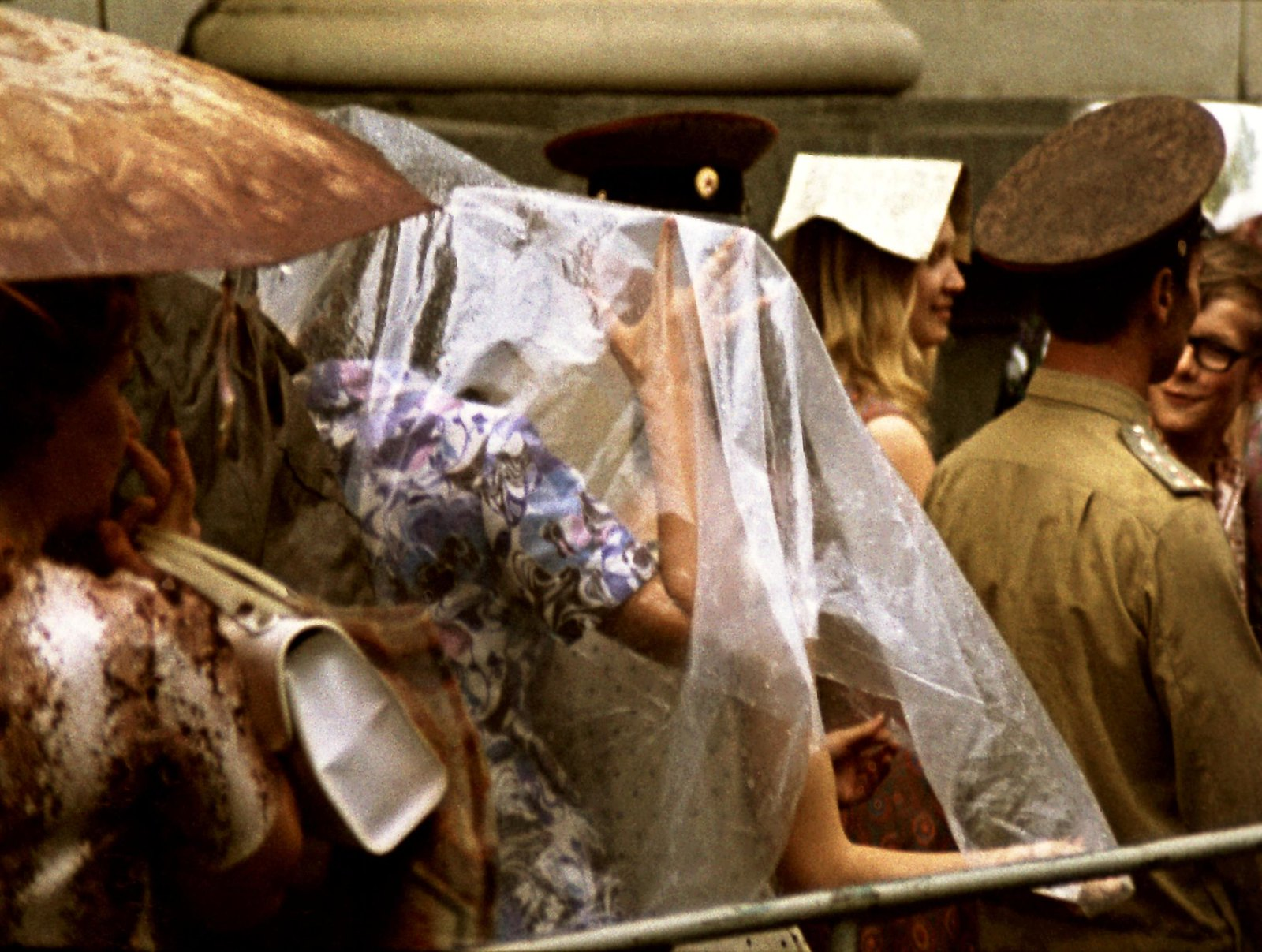 1974. Очередь к Джоконде. апрель - июнь