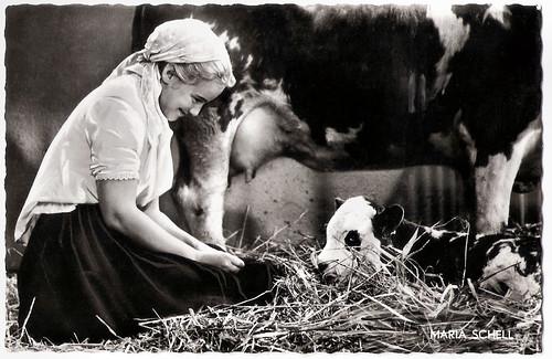Maria Schell in Rose Bernd (1957)
