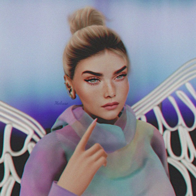 Looks like an angel...