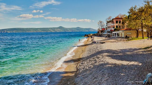 Mošćenička Draga - plaža Sv. Ivan u proljeće